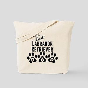 Worlds Best Labrador Retriever Dad Tote Bag