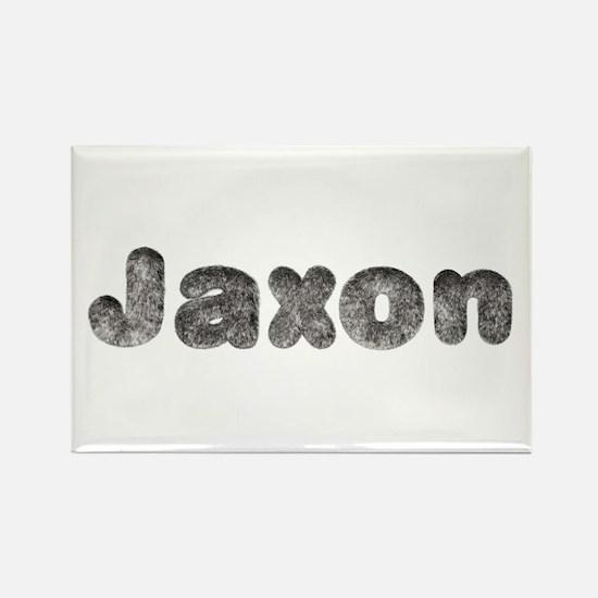 Jaxon Wolf Rectangle Magnet