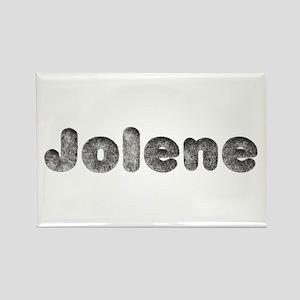 Jolene Wolf Rectangle Magnet