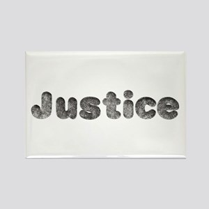 Justice Wolf Rectangle Magnet