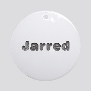 Jarred Wolf Round Ornament