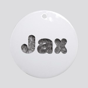 Jax Wolf Round Ornament