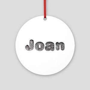 Joan Wolf Round Ornament