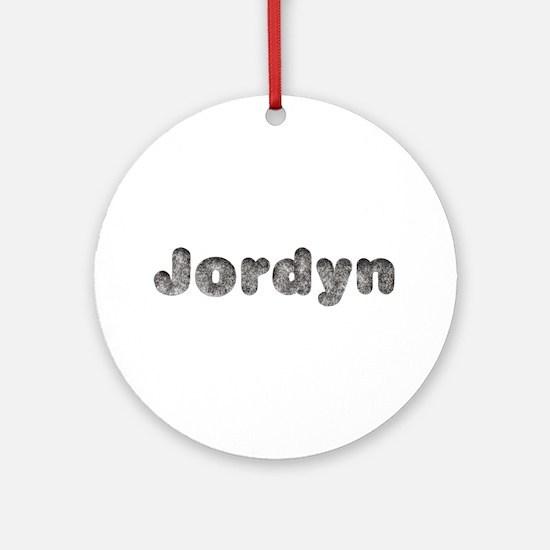 Jordyn Wolf Round Ornament