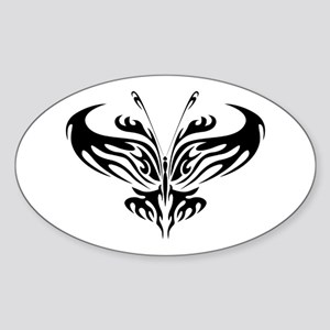 BUTTERFLY 1 Oval Sticker
