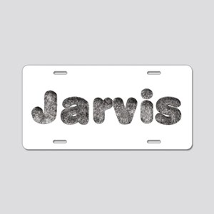 Jarvis Wolf Aluminum License Plate
