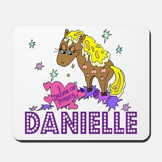 I Dream Of Ponies Danielle Mousepad