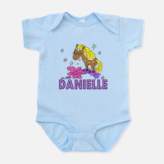 I Dream Of Ponies Danielle Infant Bodysuit