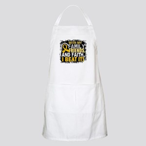 Childhood Cancer Survivor FamilyFriendsFaith Apron