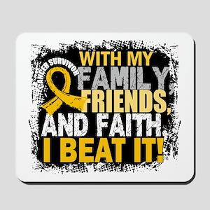 Childhood Cancer Survivor FamilyFriendsF Mousepad