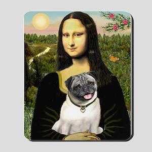 Mona's Fawn Pug Mousepad