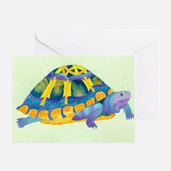 Celtic Turtle Greeting Card