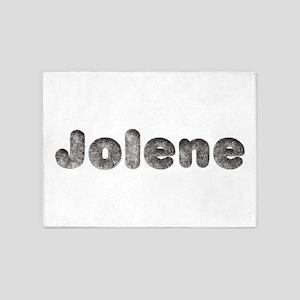 Jolene Wolf 5'x7' Area Rug