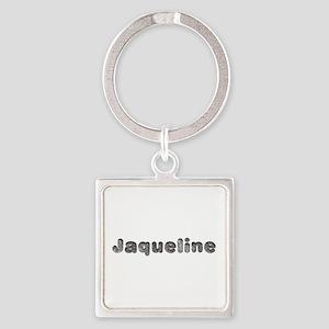 Jaqueline Wolf Square Keychain