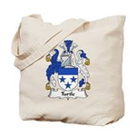 Turtle Family Crest Tote Bag