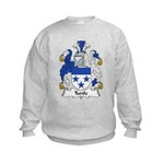 Turtle Family Crest Kids Sweatshirt