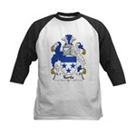 Turtle Family Crest Kids Baseball Jersey