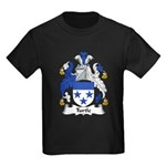 Turtle Family Crest Kids Dark T-Shirt