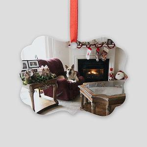 Merry Christmas Tara Picture Ornament