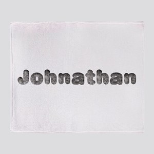 Johnathan Wolf Throw Blanket