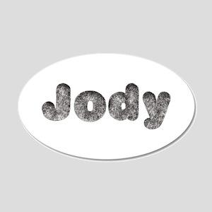 Jody Wolf 20x12 Oval Wall Decal