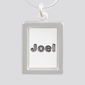 Joel Wolf Silver Portrait Necklace
