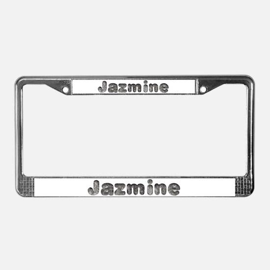 Jazmine Wolf License Plate Frame