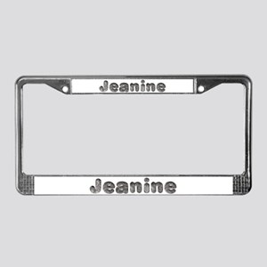Jeanine Wolf License Plate Frame
