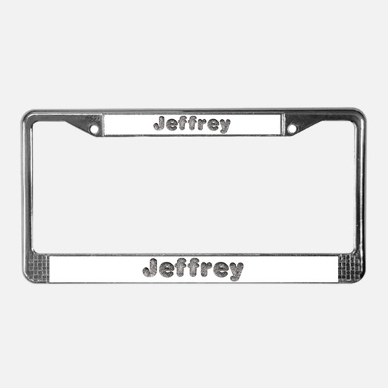 Jeffrey Wolf License Plate Frame