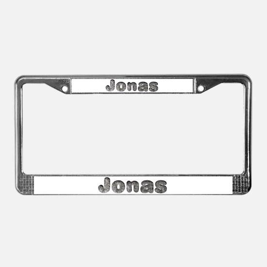 Jonas Wolf License Plate Frame