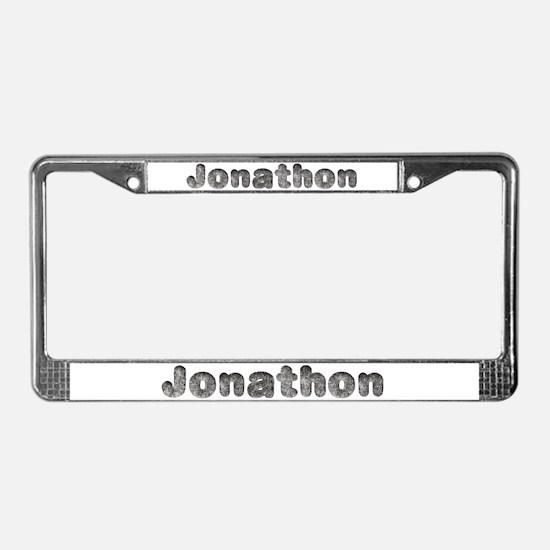 Jonathon Wolf License Plate Frame