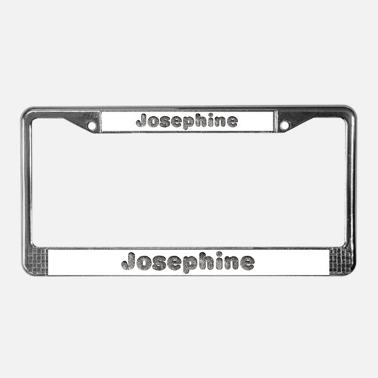 Josephine Wolf License Plate Frame