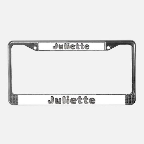 Juliette Wolf License Plate Frame