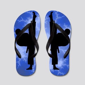 Karate Boy Kickers Flip Flops