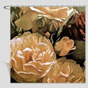 Gramma's Roses Shower Curtain