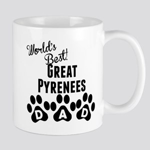 Worlds Best Great Pyrenees Dad Mugs