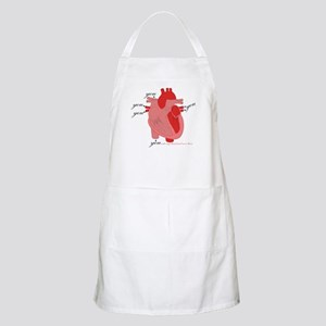 You Enter My Heart BBQ Apron