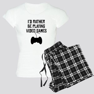 Id Rather Be Playing Video Games Pajamas