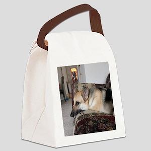Tara's Lazy Sunday Canvas Lunch Bag