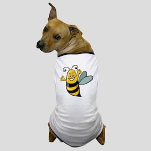 Happy Bee Dog T-Shirt