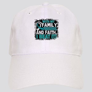 Cervical Cancer Survivor FamilyFriendsFaith Cap
