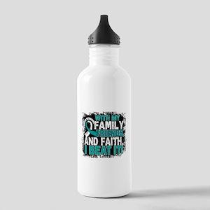 Cervical Cancer Surviv Stainless Water Bottle 1.0L