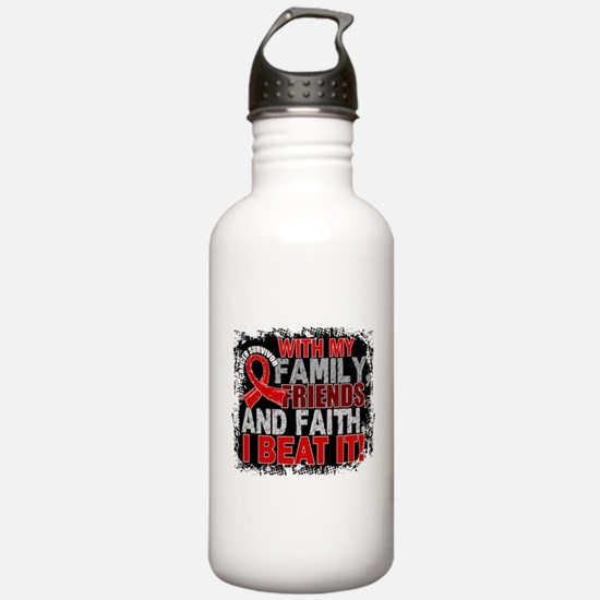 Blood Cancer Survivor Water Bottle