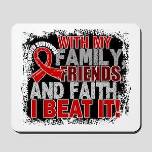 Blood Cancer Survivor FamilyFriendsFaith Mousepad