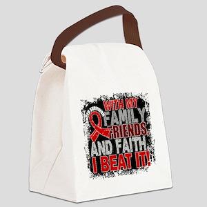 Blood Cancer Survivor FamilyFrien Canvas Lunch Bag