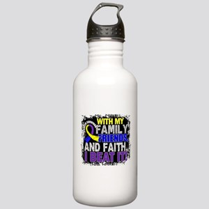 Bladder Cancer Survivo Stainless Water Bottle 1.0L