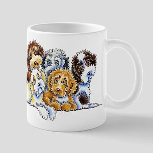 Cockapoo Rainbow Mugs