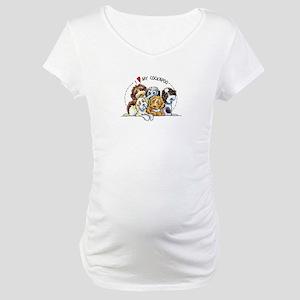 Cockapoo Lover Maternity T-Shirt