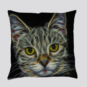 Calico KItty Art Everyday Pillow