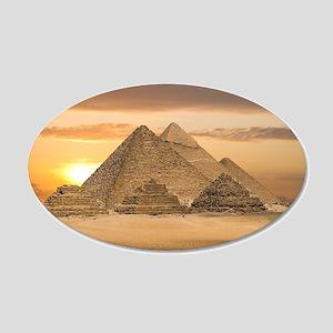 Egyptian Pyramids Wall Decal